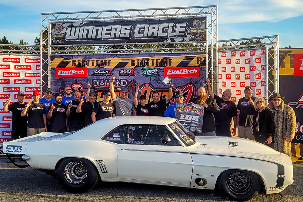 FANS PACK LIGHTS OUT 12 FOR RADIAL RACING