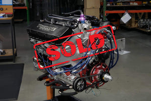 Used 540ci Conventional BBC Twin Turbo Gas Engine For Sale