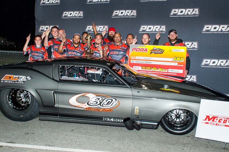 TEAM PLR GETS A WIN, A RUNNER-UP, AND BREAKS RECORDS AT THE PDRA SEASON OPENER