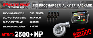 F1X Procharger Alcohol EFI Package