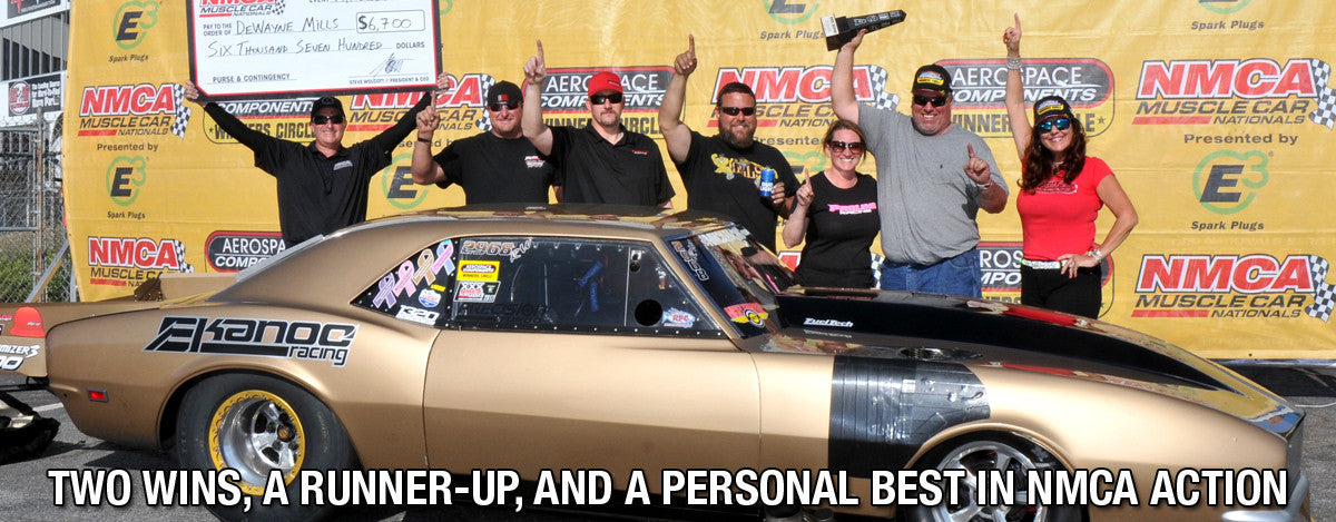 TEAM PRO LINE WITH TWO WINS, A RUNNER-UP, AND A PERSONAL BEST IN NMCA ACTION