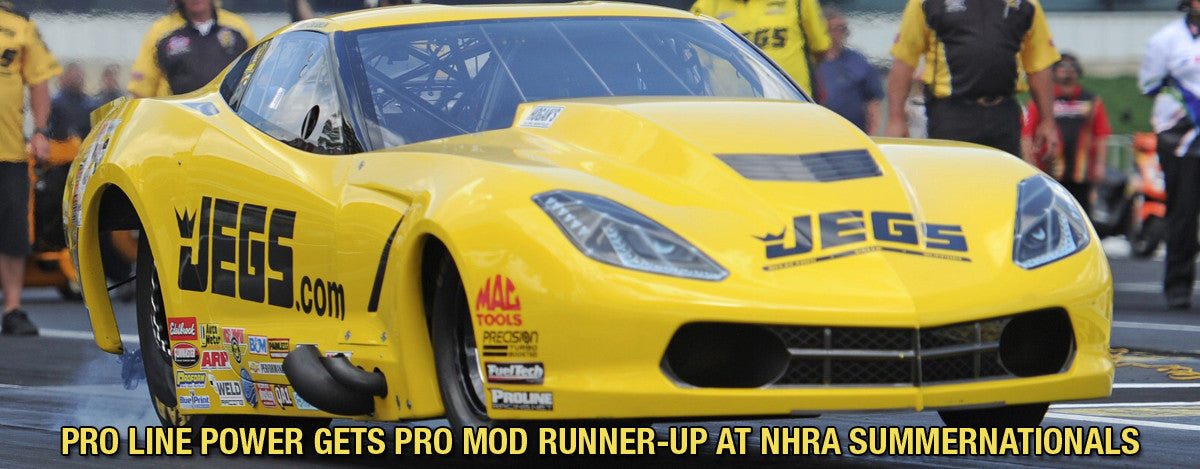 PRO LINE POWER GETS PRO MOD RUNNER-UP AT NHRA SUMMERNATIONALS