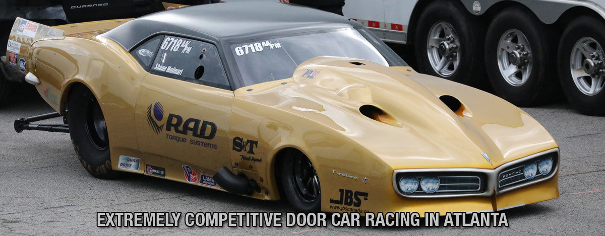 EXTREMELY COMPETITIVE DOOR CAR RACING IN ATLANTA
