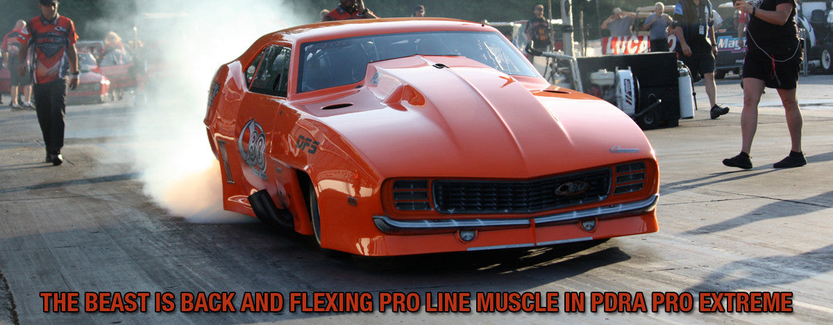 THE BEAST IS BACK AND FLEXING PRO LINE MUSCLE IN PDRA PRO EXTREME
