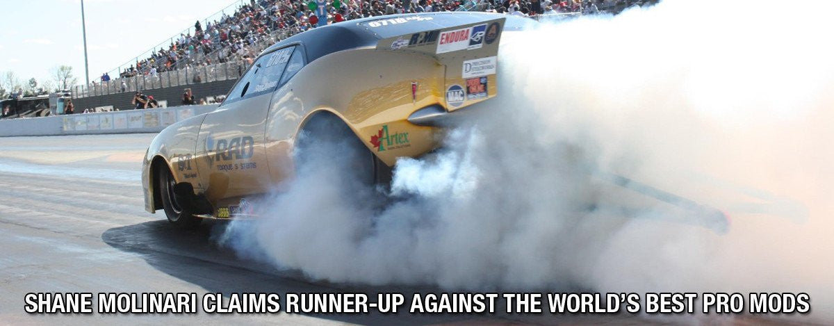 SHANE MOLINARI CLAIMS RUNNER-UP AGAINST THE WORLD'S BEST PRO MODS