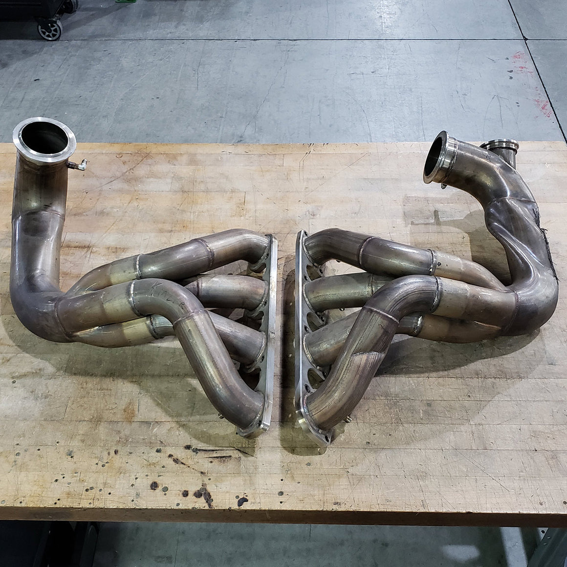 PRO MOD 481X STAINLESS TURBO HEADERS