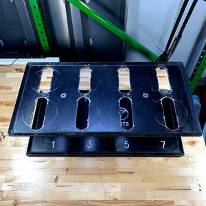 USED TRIPLE T RACE PRODUCTS PISTON RACK