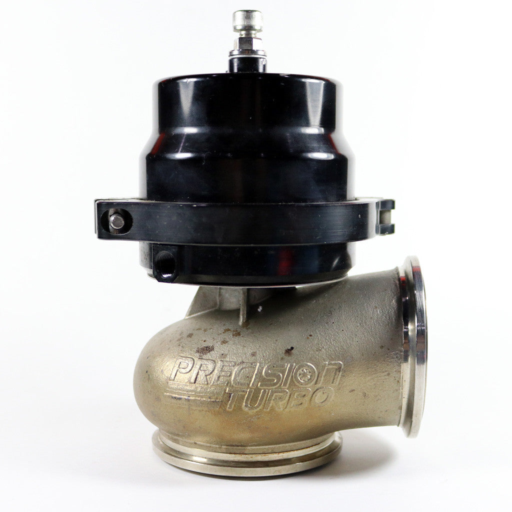 USED 66MM PRECISION WASTEGATE W/ SPARE PARTS