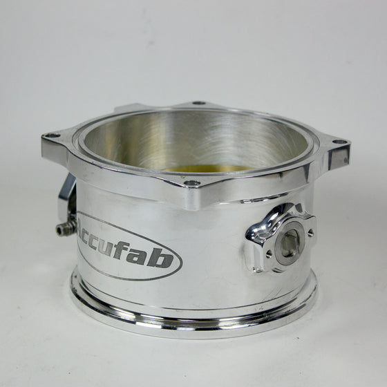 LIGHTLY USED ACCUFAB 125MM THROTTLE BODY