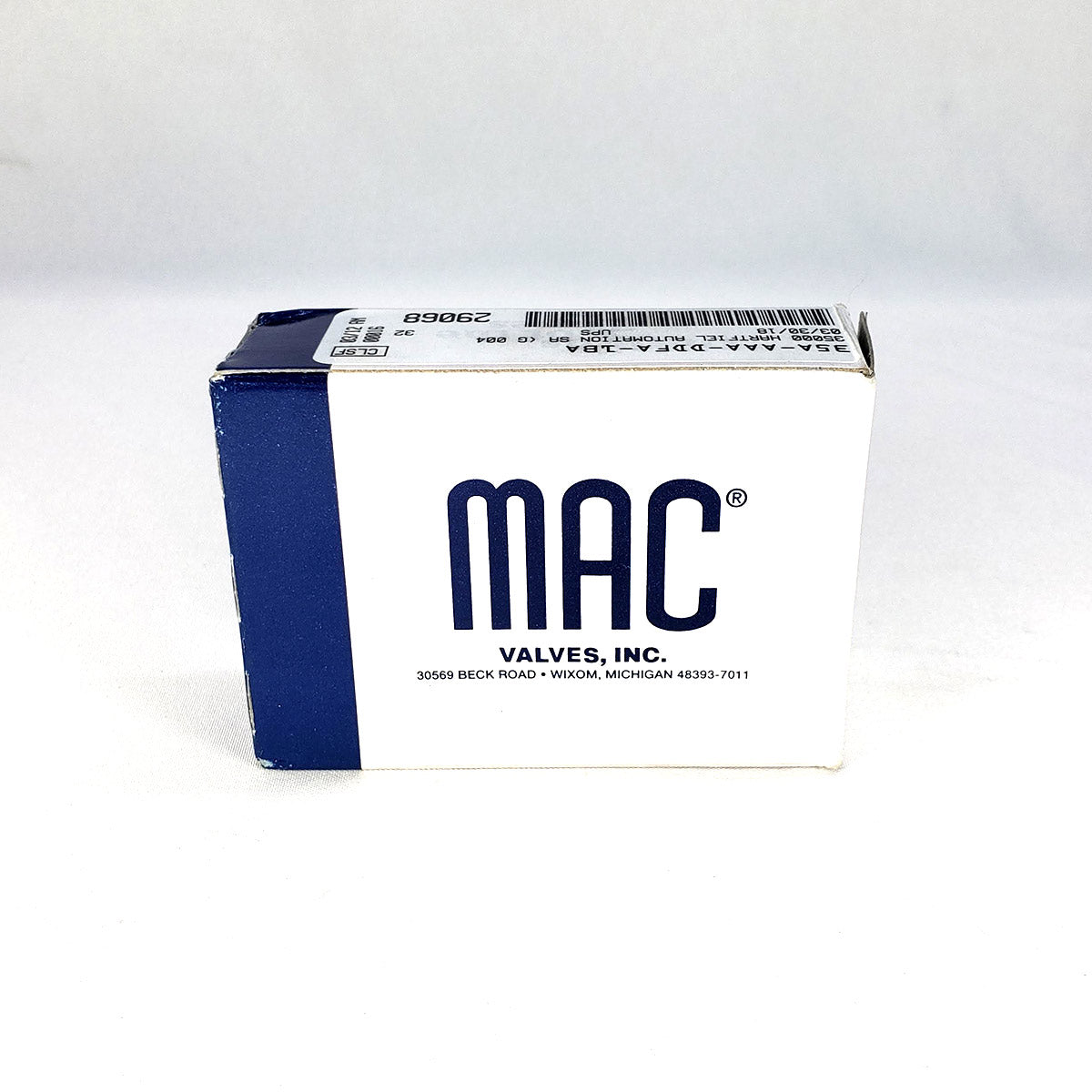 MAC VALVES 3-WAY SOLENOID VALVE FOR AIR SHIFTERS