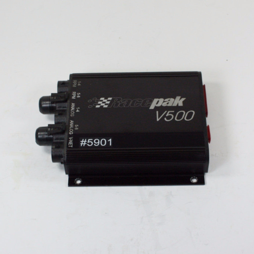 USED/TESTED RACEPAK V500 DATA LOGGER