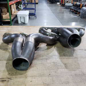 USED PRO MOD 481X STAINLESS TURBO HEADERS