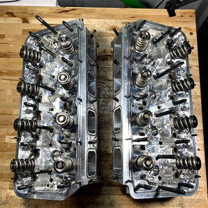 "AJPE MH4 ""P9"" NHRA LEGAL HEMI TURBO CYLINDER HEAD SET #1738"