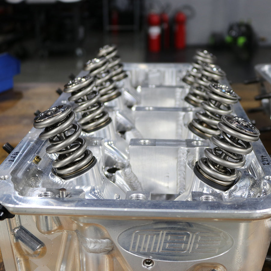 Freshened Ex- Troy Coughlin NHRA Legal Heads and Valve Covers