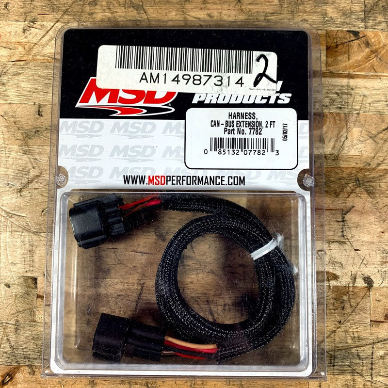 MSD 7782 CAN-BUS EXTENSION HARNESS - 2FT