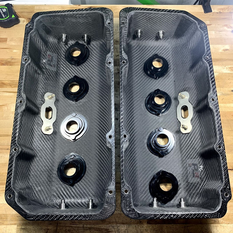 PLR/PD CARBON FIBER HEMI VALVE COVERS