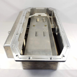 USED MOROSO HEMI ALUMINUM WET SUMP KICKOUT OIL PAN