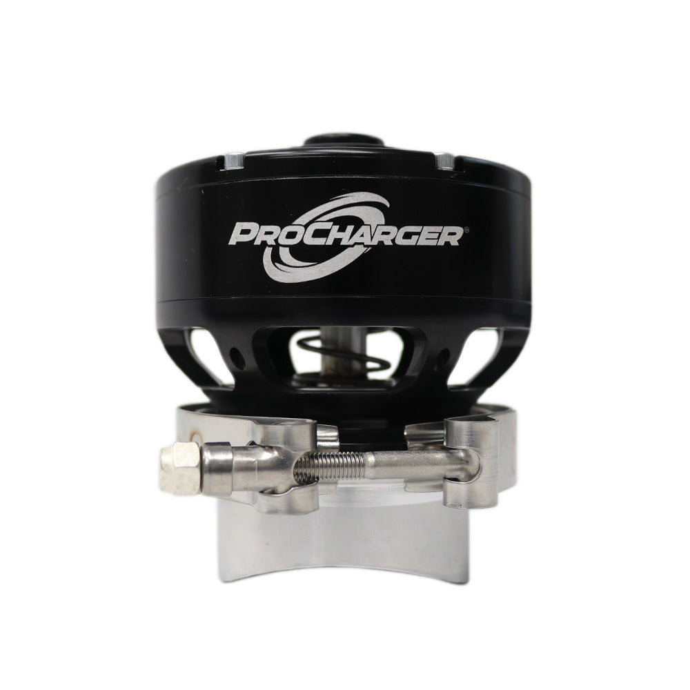 PROCHARGER FAST ACTING BLOW OFF VALVE WITH BILLET MOUNTING FLANGE (BLACK)