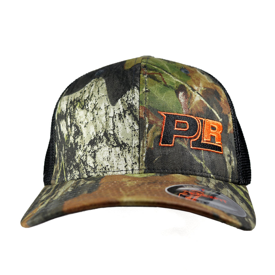 PROLINE RACING MOSSY OAK CAMO FLEXFIT MESH HAT