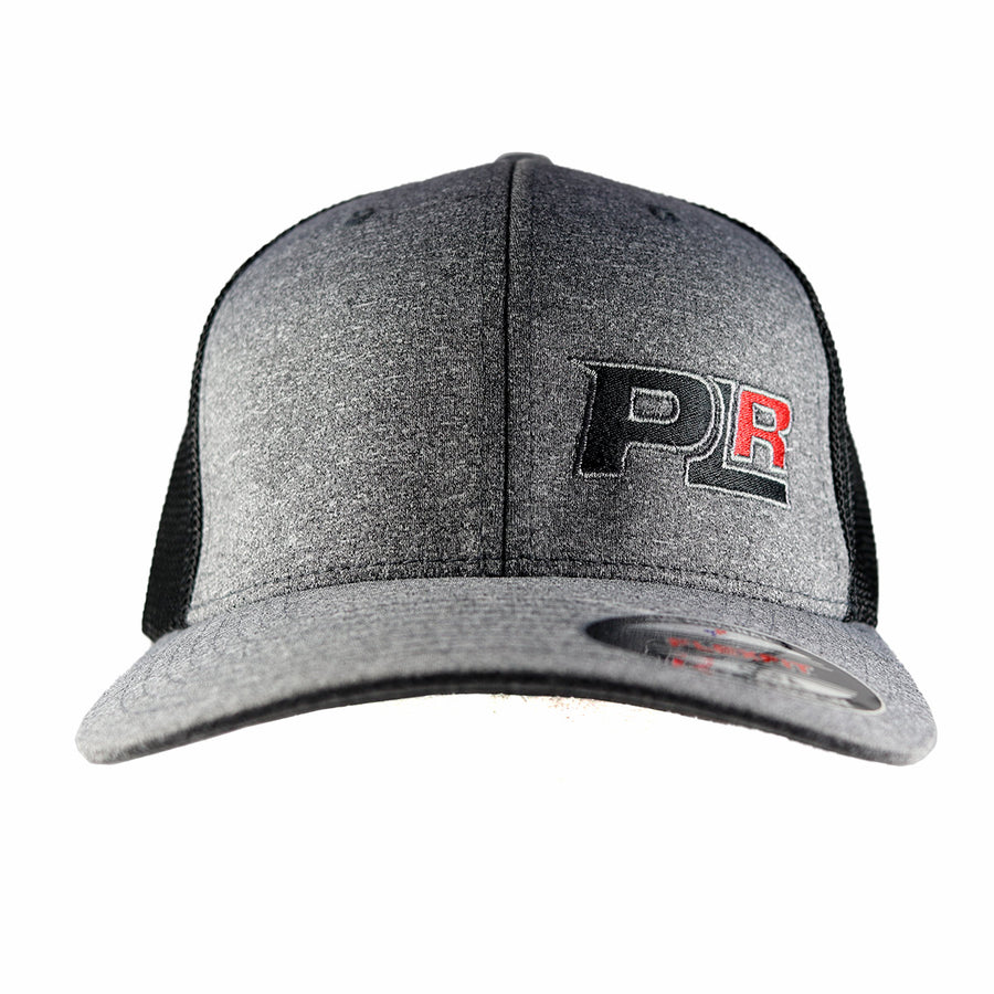 PROLINE RACING HEATHER GREY FLEXFIT MESH HAT