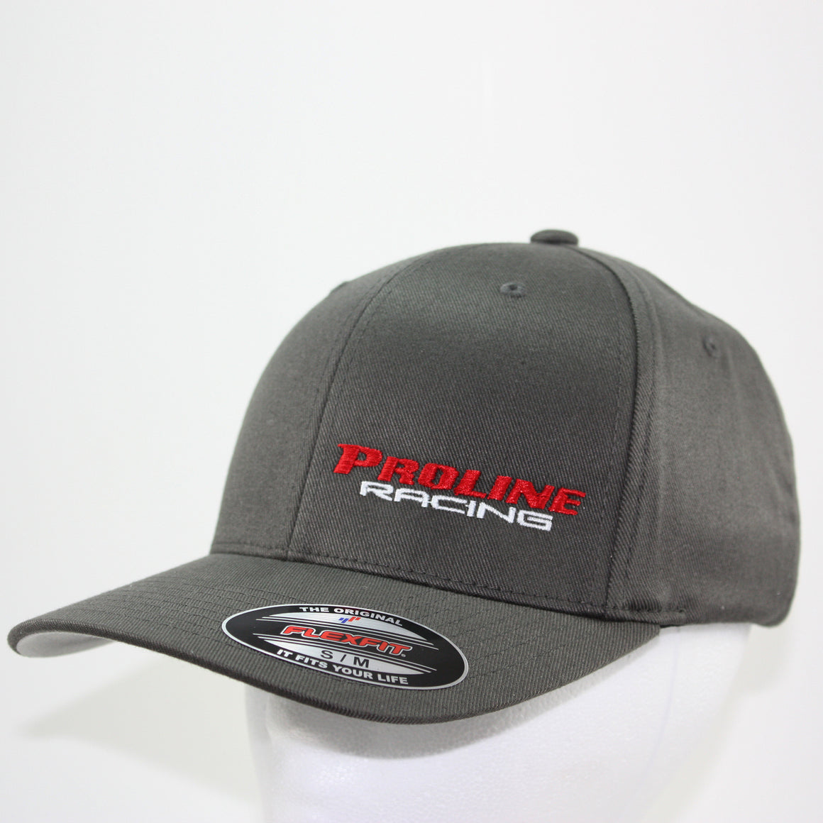 PLR FLEXFIT HAT Small/Medium / Gray - Pro Line Racing - 3