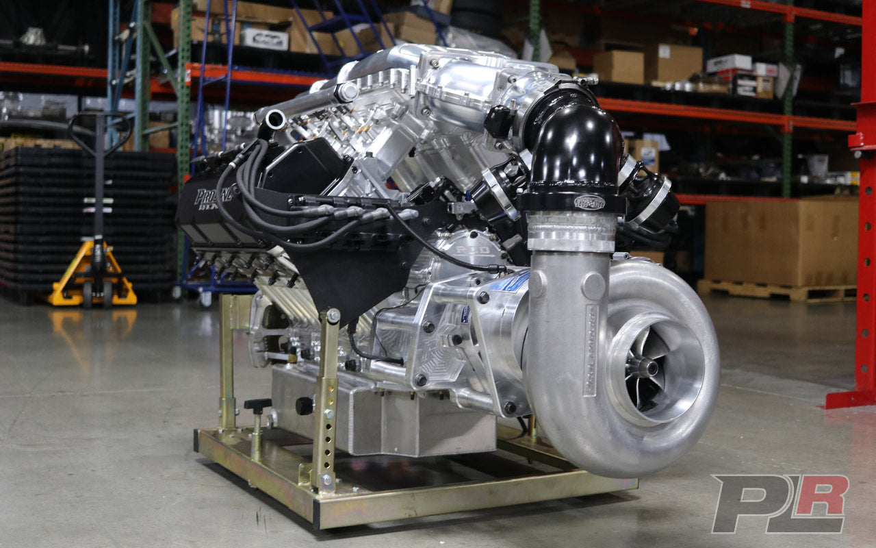 FRESH PROCHARGED 520CI PLR RAISED CAM HEMI ENGINE