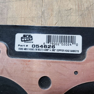 "NEW SCE FORD C460 COPPER HEAD GASKET SET 4.630"" x .062"""