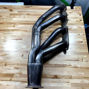 USED STAINLESS WORKS BIG BLOCK CHEVY TURBO HEADERS