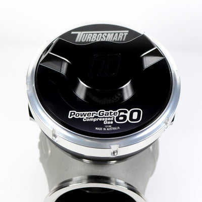 TURBOSMART GEN-V POWERGATE 60 CG WASTEGATE, 5PSI, BLACK