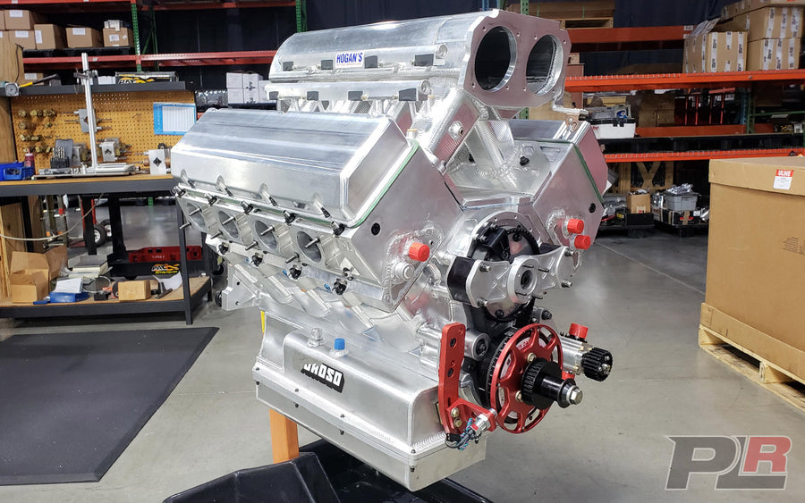 USED/FRESH 648CI 5.300 BORE SPACE BILLET BBC ENGINE