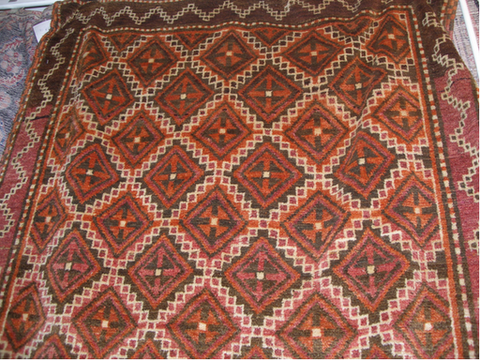 "ANTIQUE BALUCH 4,2""X8'2"""