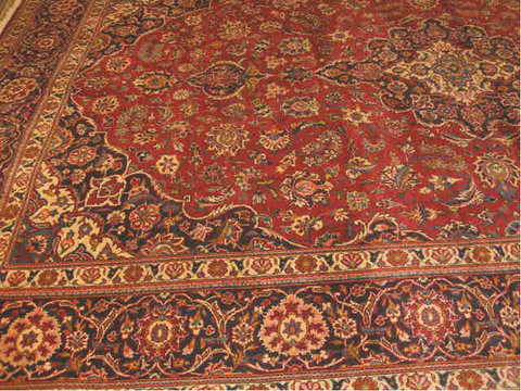 KASHAN SEMI-ANTIQUE