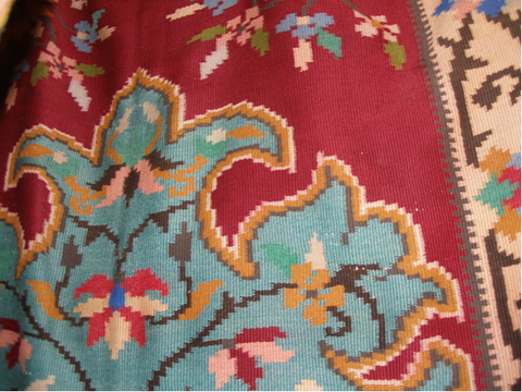 ANTIQUE BESARABIAN KILIM / BOSNIA ORIGIN
