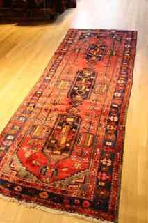 "Runner shahsevan tribal  #366  , 9',6"" X3'6"""