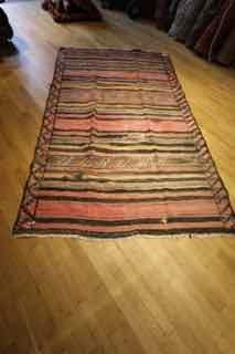 "shahsevan, sumak , Kilim  antique, 5'6""x9' , rug number 679"