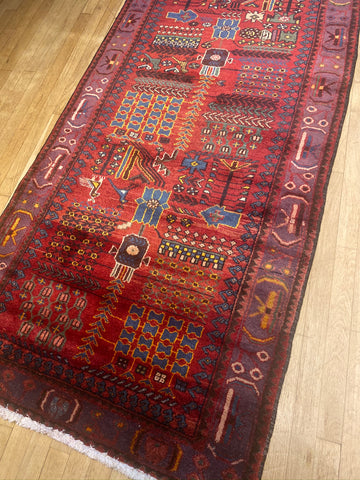 Runner shahsevan tribal persian #303
