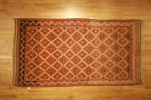 Antique baluch 4x7 wool
