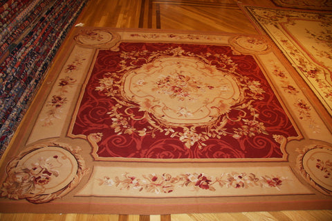 Aubusson 8x8 wool