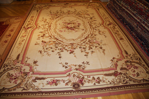Aubusson 10x14 ( also available ,needle point, savonneries, sumac )