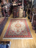"Tabriz silk wool 8'3""x11,6"""