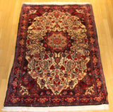"Bijar , floor rug, tribal, Rug number MSC 452, 6'2"" x3'7"""