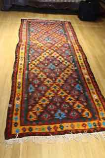 kilim shahsevan, tribal , antique, 587