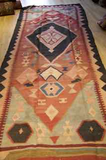 kilim shahsevan, tribal , antique, 582