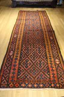 kilim shahsevan, tribal , antique, 594