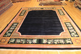 "chinese wool 8'6"" x11'6"" black"