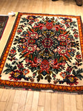 "Armenian  weave, antique  rug #402 size 3'6""x5'2"