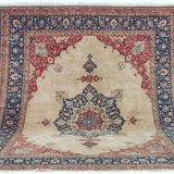 TABRIZ antique 10x15 SIGNED 19TH CENTURY