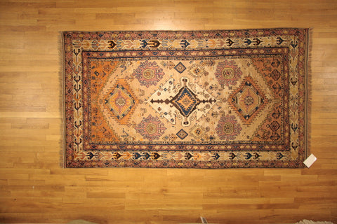 Tribal 4x7 persian antique wool