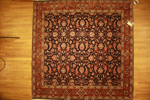 silk bijar 8x8 persian