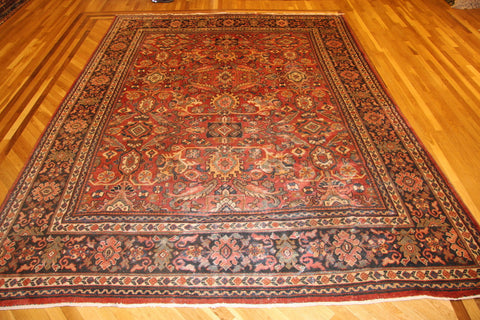 "ANTIQUE ziegler MAHAL 8'9""x12'2"""